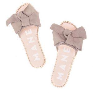 Flat Sandals With Bow Hamptons Vintage Merci Online